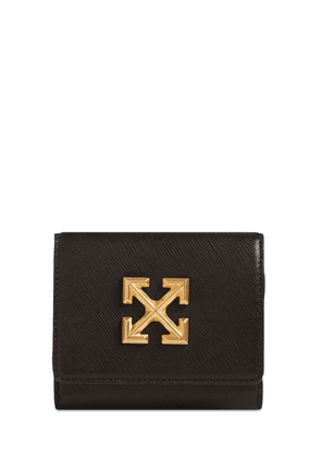 Jitney French Leather Flap Wallet