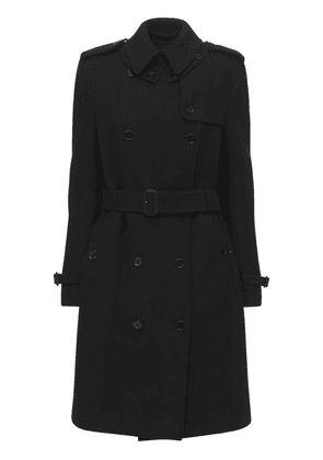 Cashmere Blend Double Trench Coat