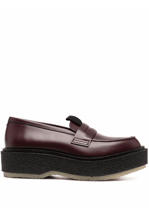 Adieu Paris Type 143 penny loafers - Red
