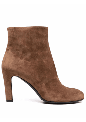 Del Carlo ankle-length boots - Brown