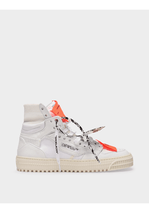 Off-White 3.0 Off Court Sneakers in White Leather