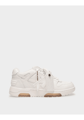 Off-White Out of Office Sneakers in White Leather