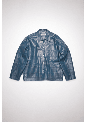Acne Studios FN-MN-LEAT000163 Mid blue  Leather jacket