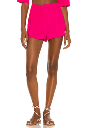 House of Harlow 1960 x Sofia Richie Bari Short in Pink. Size M, XXS.