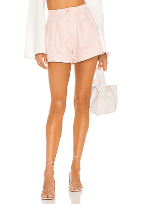 MAJORELLE Kaylee Short in Pink. Size L, M, S, XL, XS.