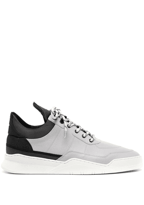 Filling Pieces lace-up low-top sneakers - Black