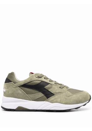Diadora panelled low-top trainers - Green