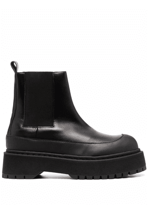 By Malene Birger leather ankle boots - Black