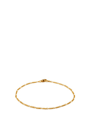 Theodora Warre - Gold-plated Sterling-silver Ankle Bracelet - Womens - Gold