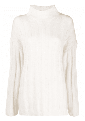 By Malene Birger roll-neck ribbed jumper - Neutrals