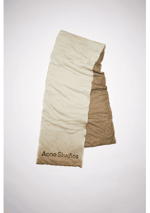 Acne Studios FN-UX-SCAR000179 Dusty brown Ombre padded scarf