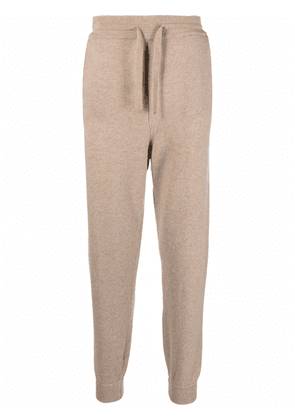 Altea slim-fit knitted track pants - Neutrals