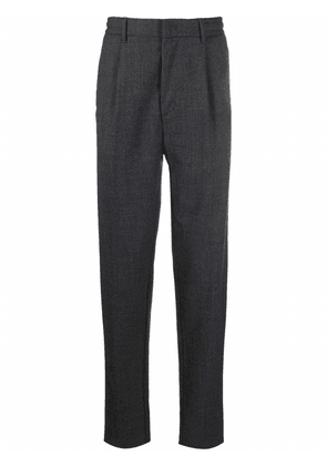 Altea mid-rise tapered trousers - Grey