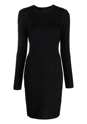 Givenchy 4G motif fitted dress - Black