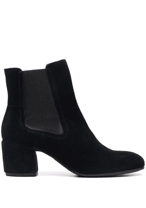 Del Carlo slip-on ankle boots - Black