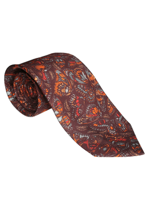 Emily Carter - The Tropical Butterfly Tie Terracotta