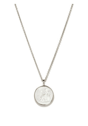 Tom Wood - Athena Cameo Sterling-silver Pendant Necklace - Mens - Silver