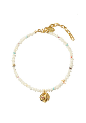 Lizzie Fortunato - Icarus Pearl & Gold-plated Necklace - Womens - Pearl