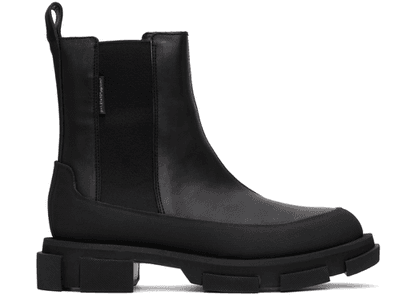 both Black Gao Chelsea Boots