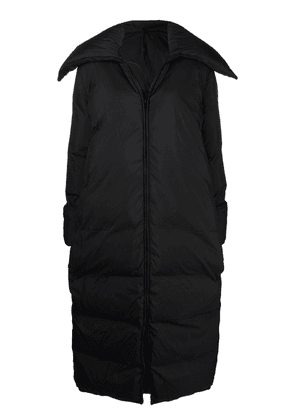 By Malene Birger long feather-down padded coat - Black
