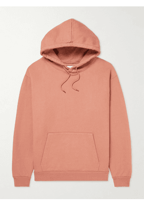 A Kind Of Guise - Tauguli Printed Organic Cotton-Jersey Hoodie - Men - Pink - S