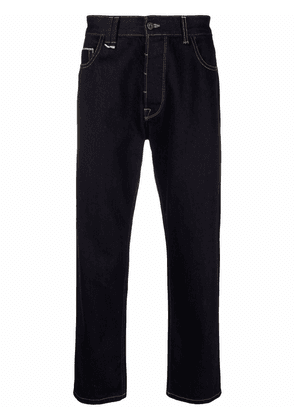 Costumein cropped-leg jeans - Blue