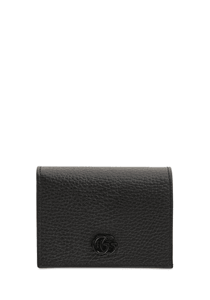 Gg Leather Card Case