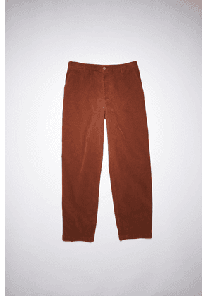 Acne Studios FN-MN-TROU000530 Chestnut brown  Straight trousers