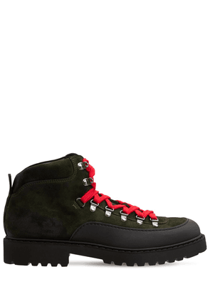 Lvr Exclusive Suede & Fabric Hiking Boot