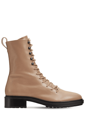 40mm Isabel Leather Ankle Boots