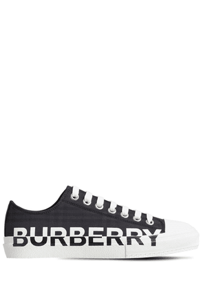 20mm Larkhall Check Canvas Sneakers