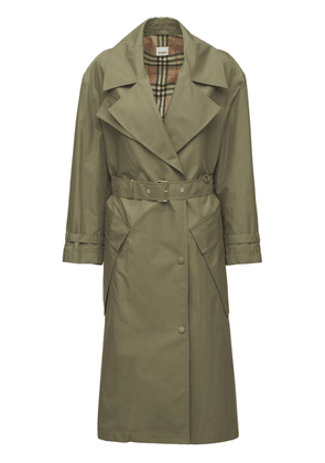 Laxton Cotton Canvas Trench Coat