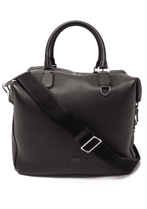 Dolce & Gabbana - Grained Leather Holdall - Mens - Black