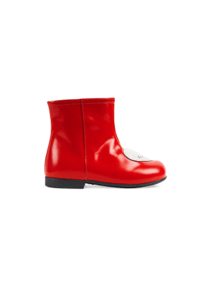 Toddler boot with heart
