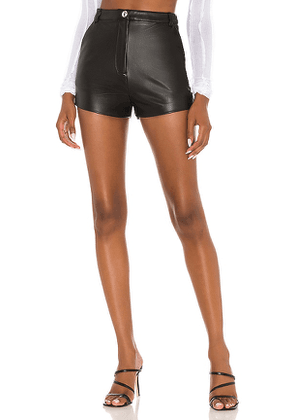 h:ours Alvina Shorts in Black. Size M, XL.