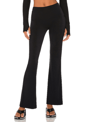 Commando Butter Flare Lounge Pant in Black. Size S, M, L.