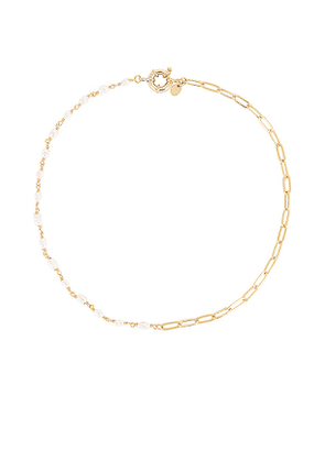 Arms Of Eve Florence Necklace in Metallic Gold.