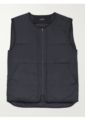 Bellerose - Hoch Quilted Recycled Shell Down Gilet - Men - Blue - S