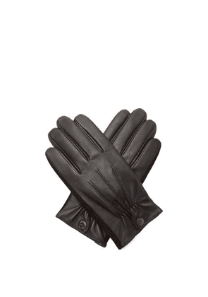 Dents - Esher Wool-lined Leather Touchscreen Gloves - Mens - Black