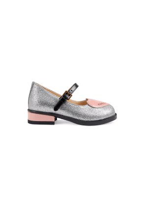 Toddler ballet flat with heart