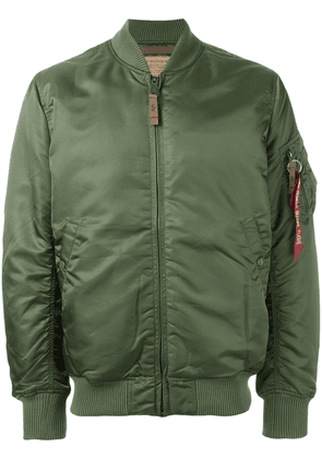 Alpha Industries padded bomber jacket - Green