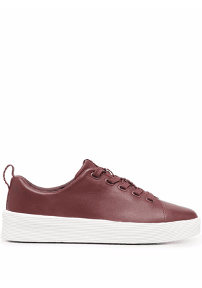 Camper Courb flatform sneakers - Red