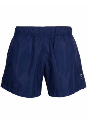 Off-White OW LOGO SWIMSHORTS DEEP BLUE NO COLOR