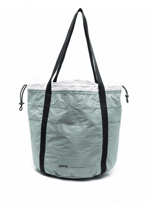 Camper quilted shell tote - Green
