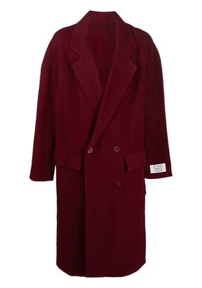 Etudes Venus double-breasted coat - Red