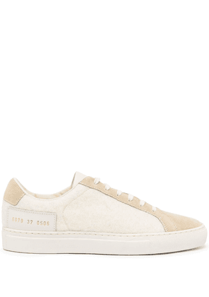 Common Projects 6079 panelled low-top sneakers - White