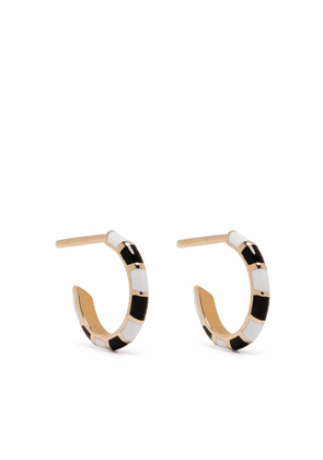 Alice Cicolini 14kt yellow gold Memphis Candy huggie hoop earrings
