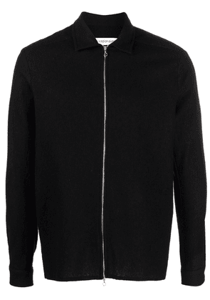 A Kind of Guise zip-up wool cardigan - Black