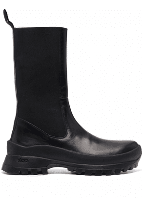 ATP Atelier knee-high leather boots - Black