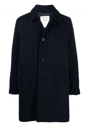 A Kind of Guise button-up single-breasted coat - Blue